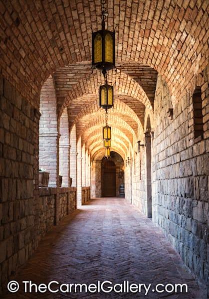 Castello di Amorosa Cloister II