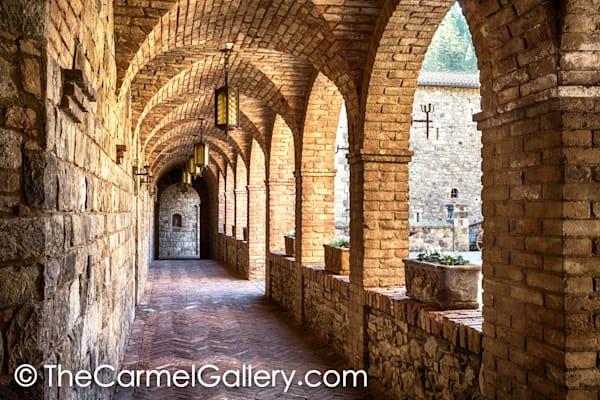 Castello di Amorosa Cloister I