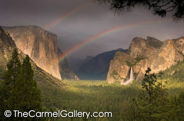 Summer Showers Yosemite