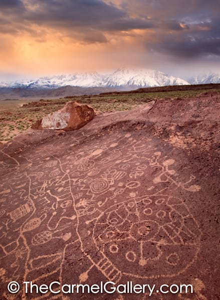Sunset on Petroglyphs V