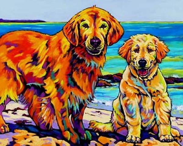 Ginger And Polar Art | Sally C. Evans Fine Art