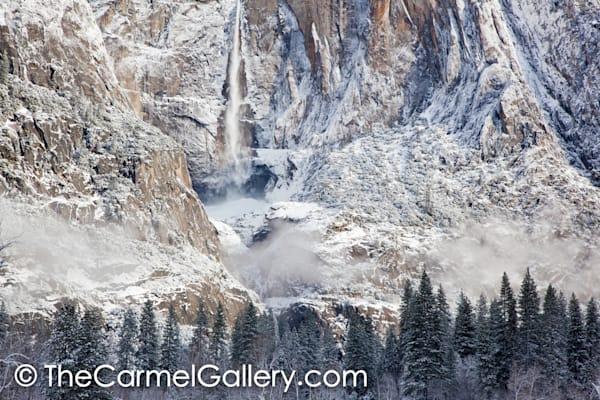 Upper Falls in Winter