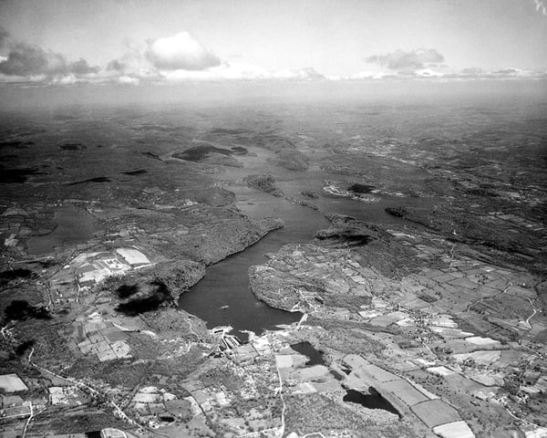 Aerial View of Candlewood Lake