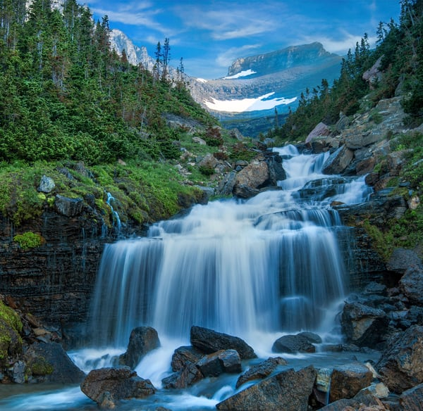 Lunch Creek - Glacier National Park Photography by Thomas Schoeller