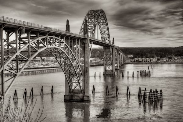 Yaquina Bay Bridge Photograph for Sale as Fine Art