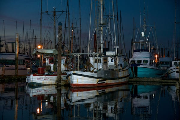 Fishing Boats in Charleston, Oregon