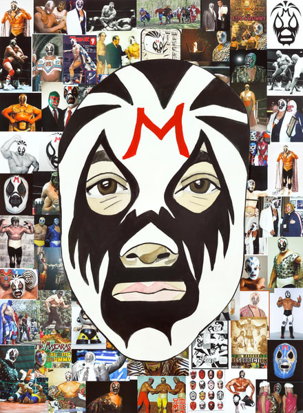 Mil Mascaras Art | William K. Stidham - heART Art