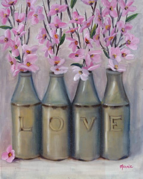 Love Spring Time by Marnie Bourque an American painter.