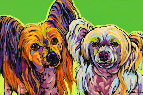 Beemer And Lucy Art | Sally C. Evans Fine Art