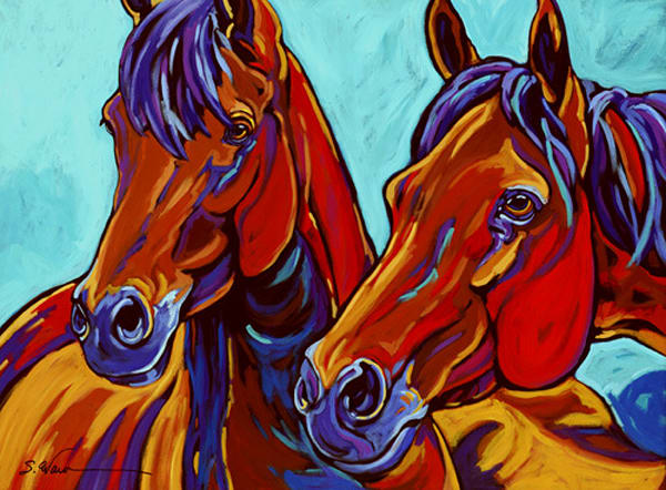 The Wild Ones Art | Sally C. Evans Fine Art