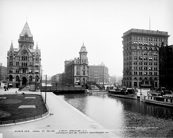 Erie Canal 1904