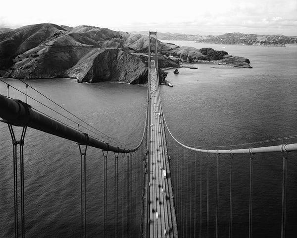 Golden Gate Bridge South Tower View