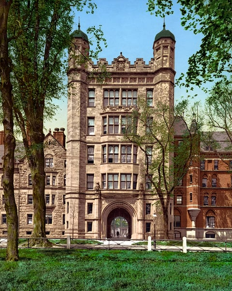 Phelps Hall, Yale College
