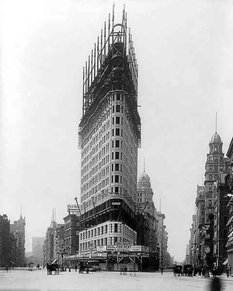 Flatiron Building Under Construction