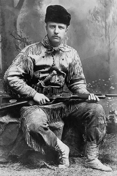 Theodore Roosevelt In 1885