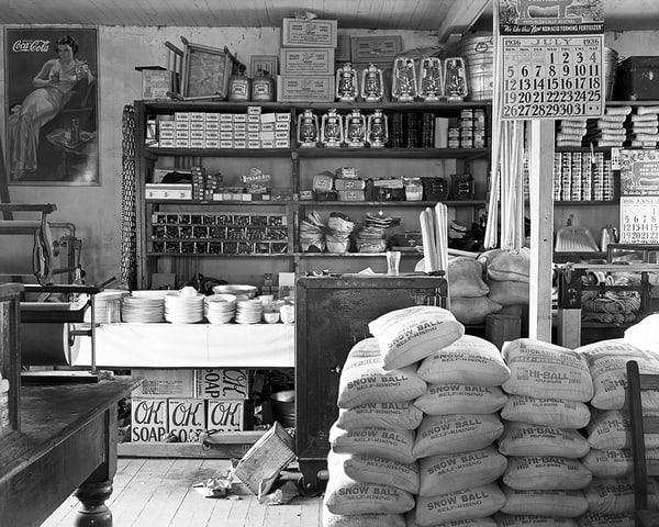 General Store In Moundville, Alabama