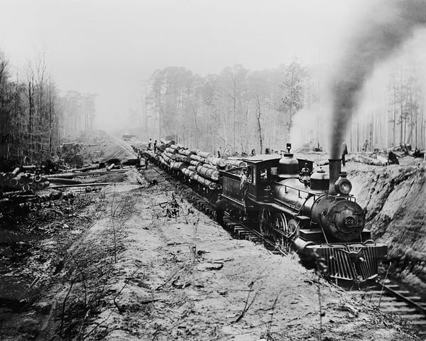 Logging Railroad, Keystone Lumber Company