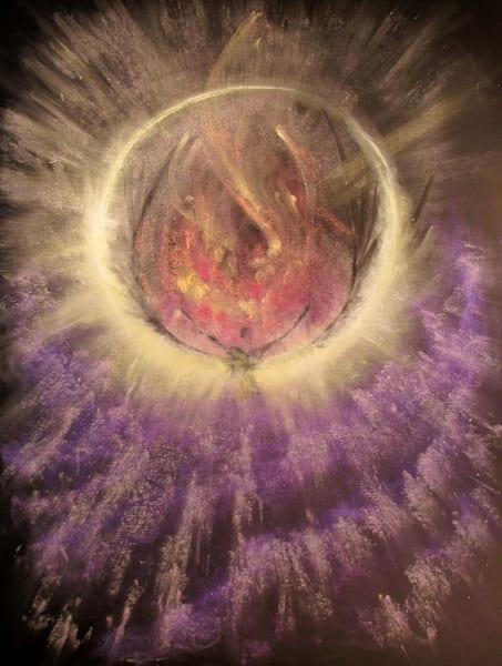 """An Eclipsed Heart"" by Kevin Moffatt | Prophetics Gallery"