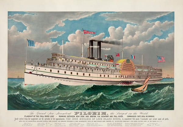 Steamboat Pilgrim Art | Visual Impact, LLC