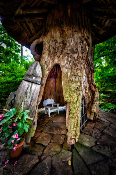 Mushroom House Fine Art Photograph | JustBob Images