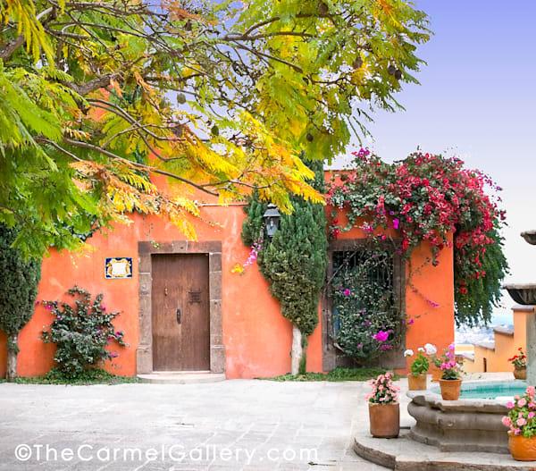 Courtyard Mexicolor Art | The Carmel Gallery