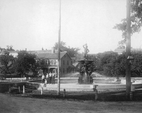 P.T. Barnum Fountain