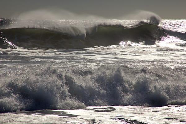 Green Wave Mist Storm