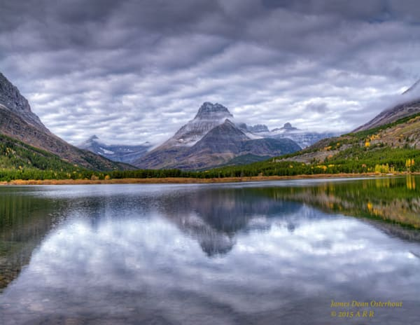 Mt. Gould,Glacier,refelections,Swiftcurrent lake