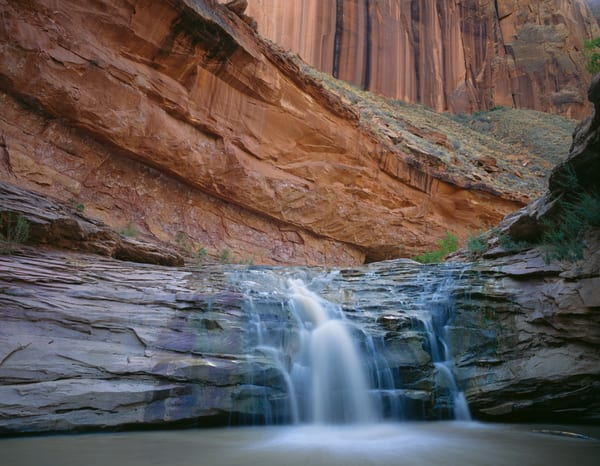 Waterfall in Coyote Gulch, Escalante Grand Staircase National Monument