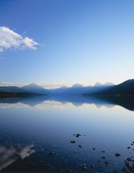 Fine art print of Lake McDonald.