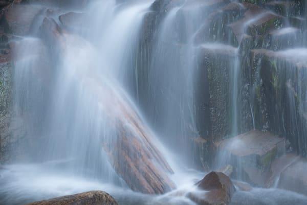 Stevens Creek waterfall in Mt. Rainier National Park