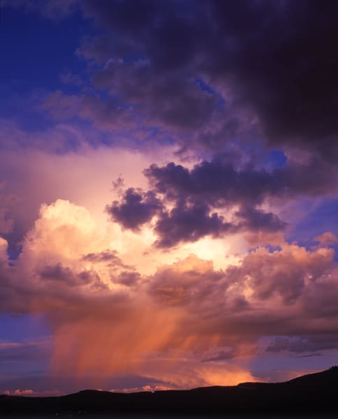 Storm clouds (Cumulonimbus) over central Colorado