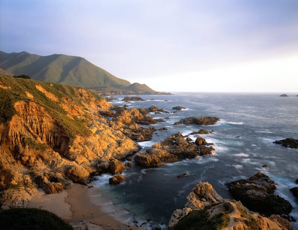 The rugged Big Sur coast near Carmel, California