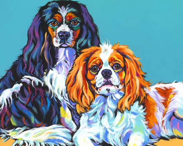 Bella And Bentley | Sally C. Evans Fine Art