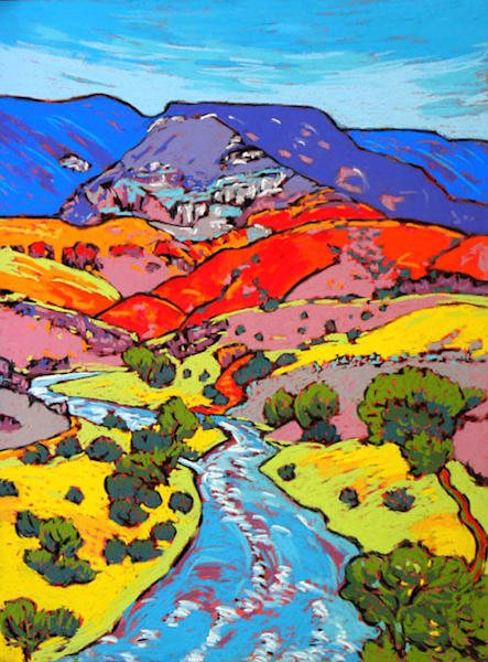 Chama River Overlook Art | Sally C. Evans Fine Art