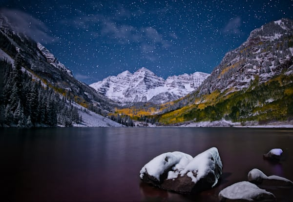 Shop for Fine Art Night Landscape Photographs of Mountains, Ice Caves, Vistas, Lakes Streams, Unusual Land Forms, iconic Mountain Scenes and National Monuments
