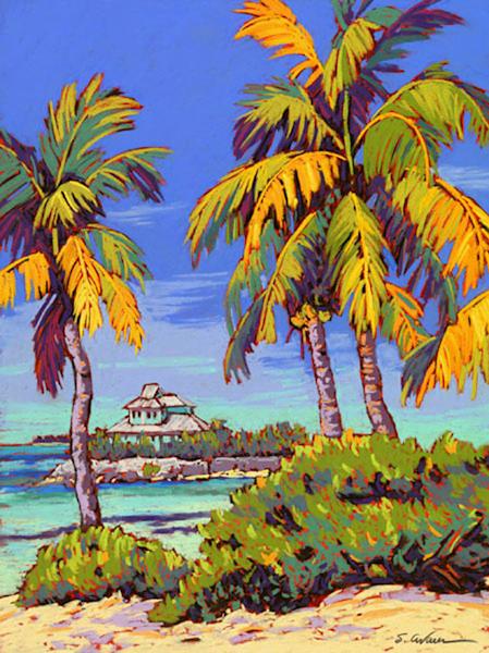 Periwinkle Palms