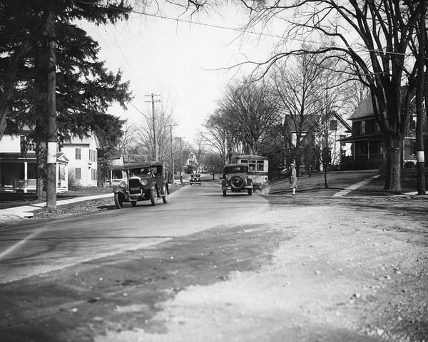 East Street (Now Greenwood Avenue)