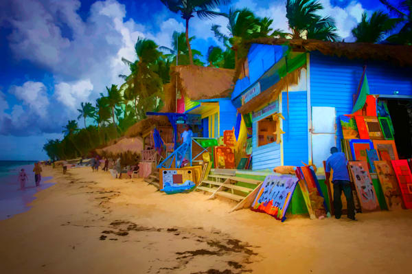 Beach Shops #25 Fine Art Photograph | JustBob Images