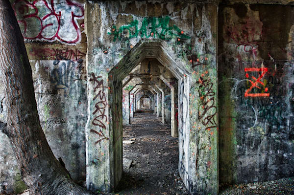 Graffiti Underground #9 Fine Art Photograph | JustBob Images