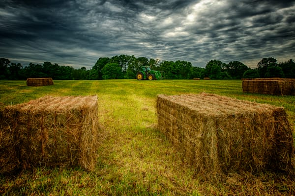 Hay Bales #2 Fine Art Photograph by Robert | JustBob Images