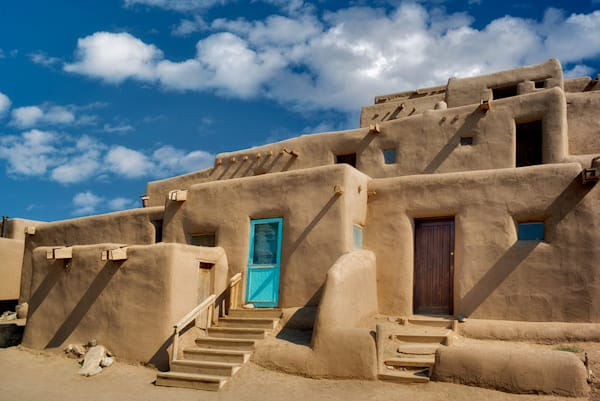 Dwelling Structures In Pueblo De Taos 2 Art | Fine Art New Mexico