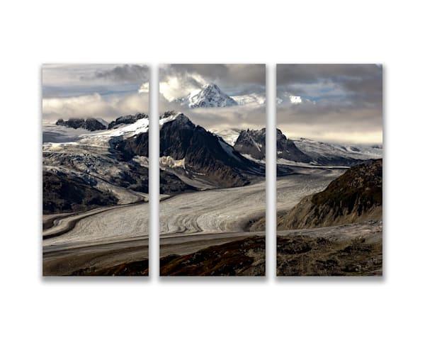 24x16 Metal Print Triptych