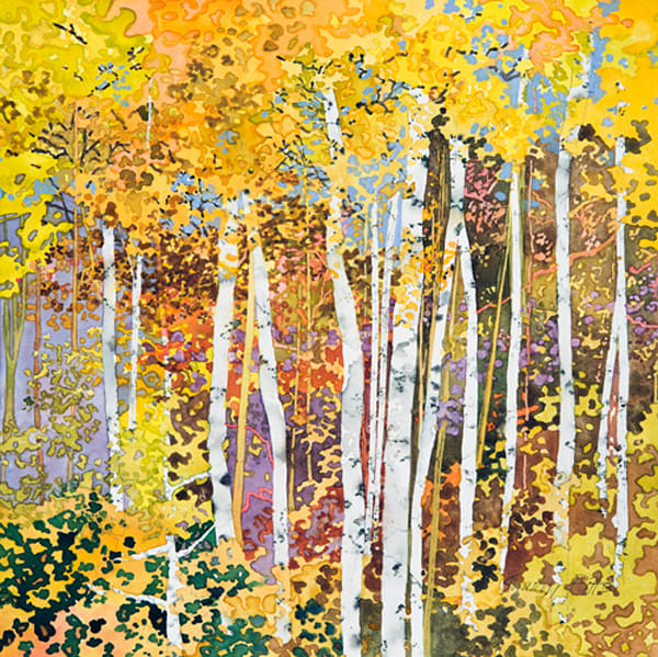 Autumn Birches III, SHAPIT148813