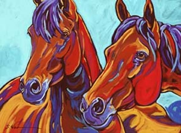 The Wild Ones | Sally C. Evans Fine Art