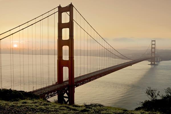 Golden Gate Sunrise #2, B3127D