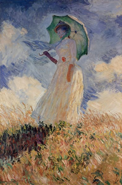 Woman With Parasol, MASCOL90340