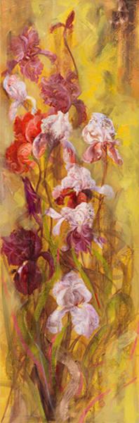Bearded Iris I, LIBO131326