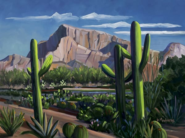 Totems at Pusch Ridge | Southwest Art Gallery Tucson