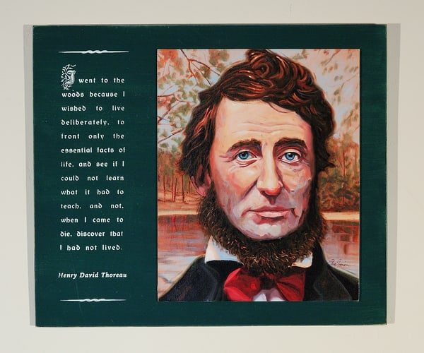 Henry David Thoreau - Boardation